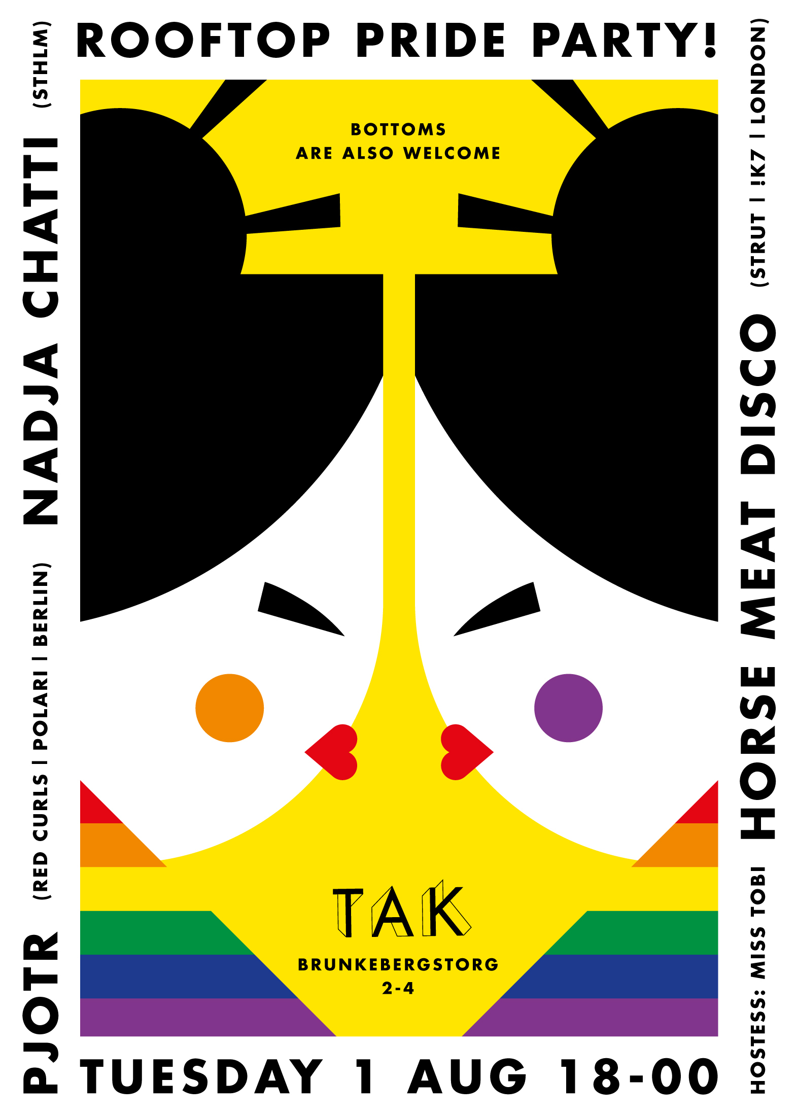 Behind the Amusement Park – Pride poster