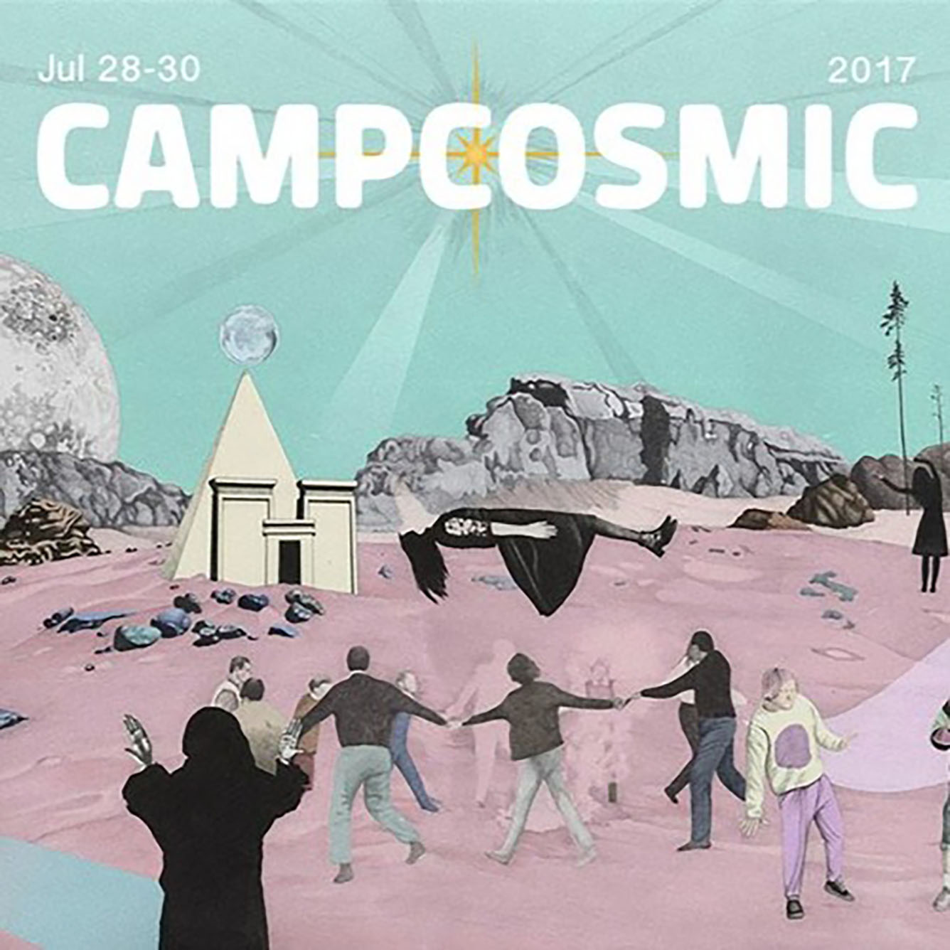 Behind the Amusement Park – Camp Cosmic 2017