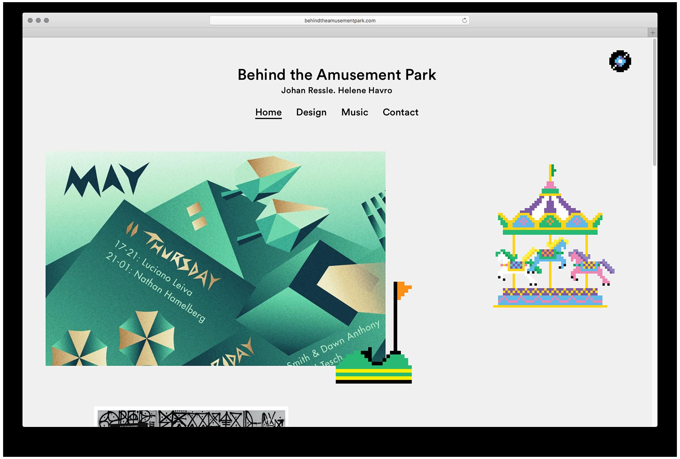 Behind the Amusement Park — Behind the Amusement Park