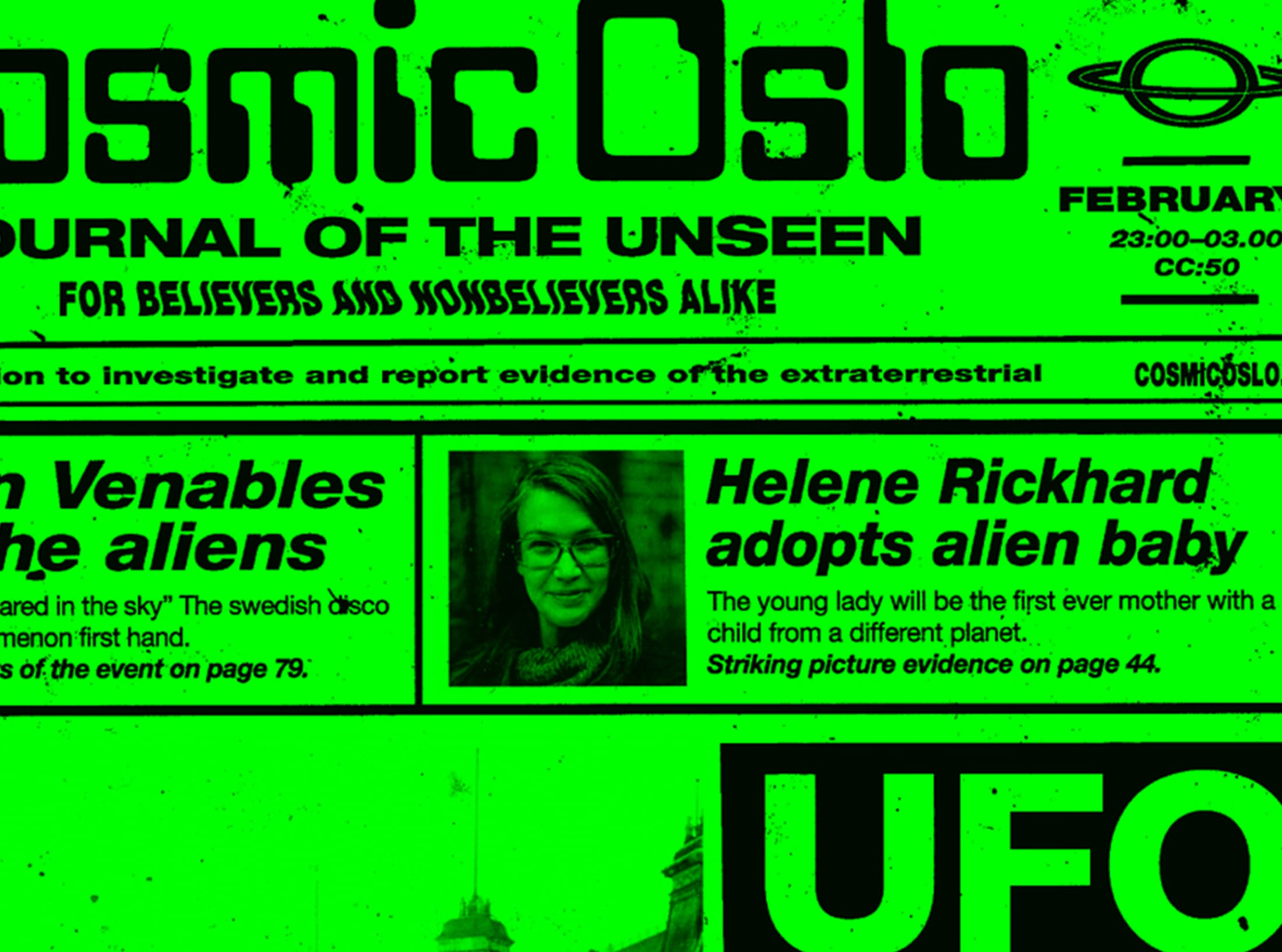 Behind the Amusement Park – Cosmic Oslo February preview